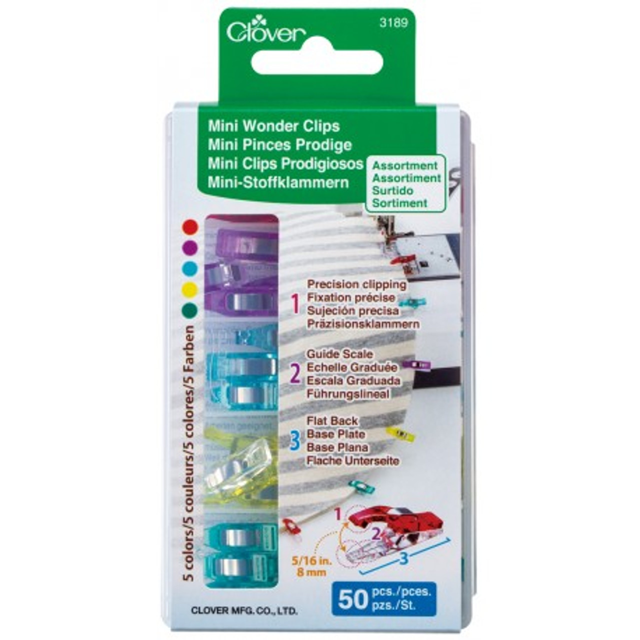 Mini Wonder Clips (50 Pack)