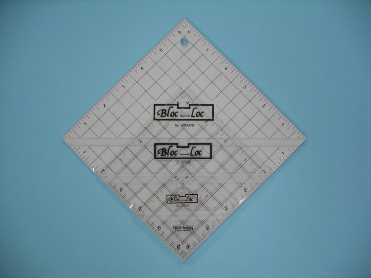 "Half Square Triangle Ruler Set #2 (2.5"", 4.5"", 6.5"")"