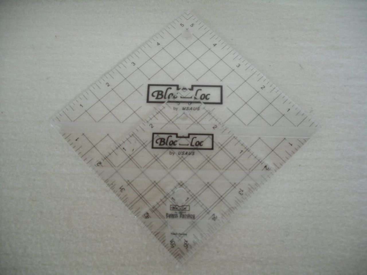 "Half Square Triangle Ruler Set #3 (1.5"", 3.5"", 5.5"")"