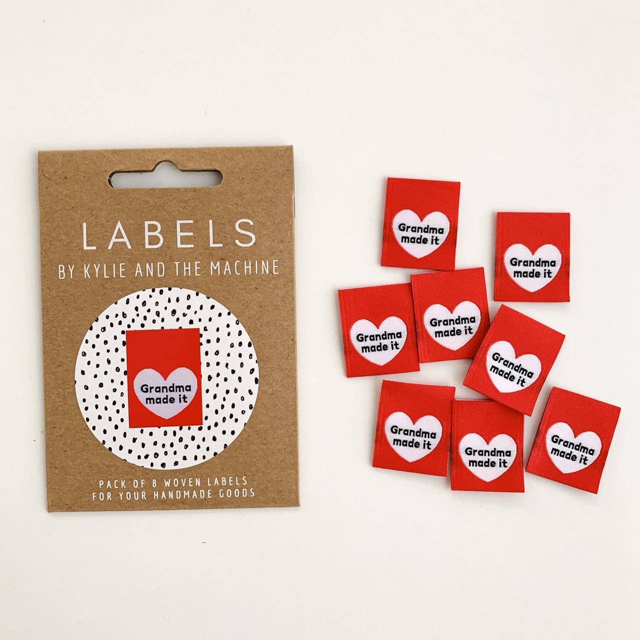 Woven Label - Grandma Made It