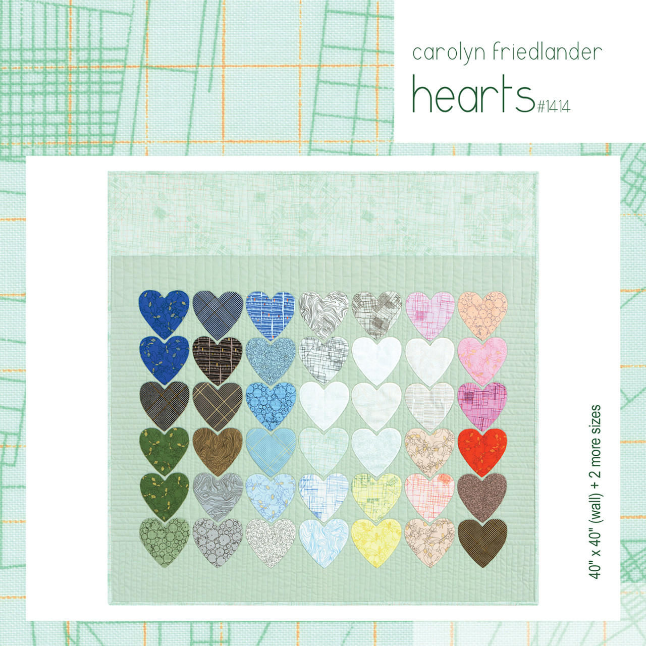 Hearts Quilt Pattern