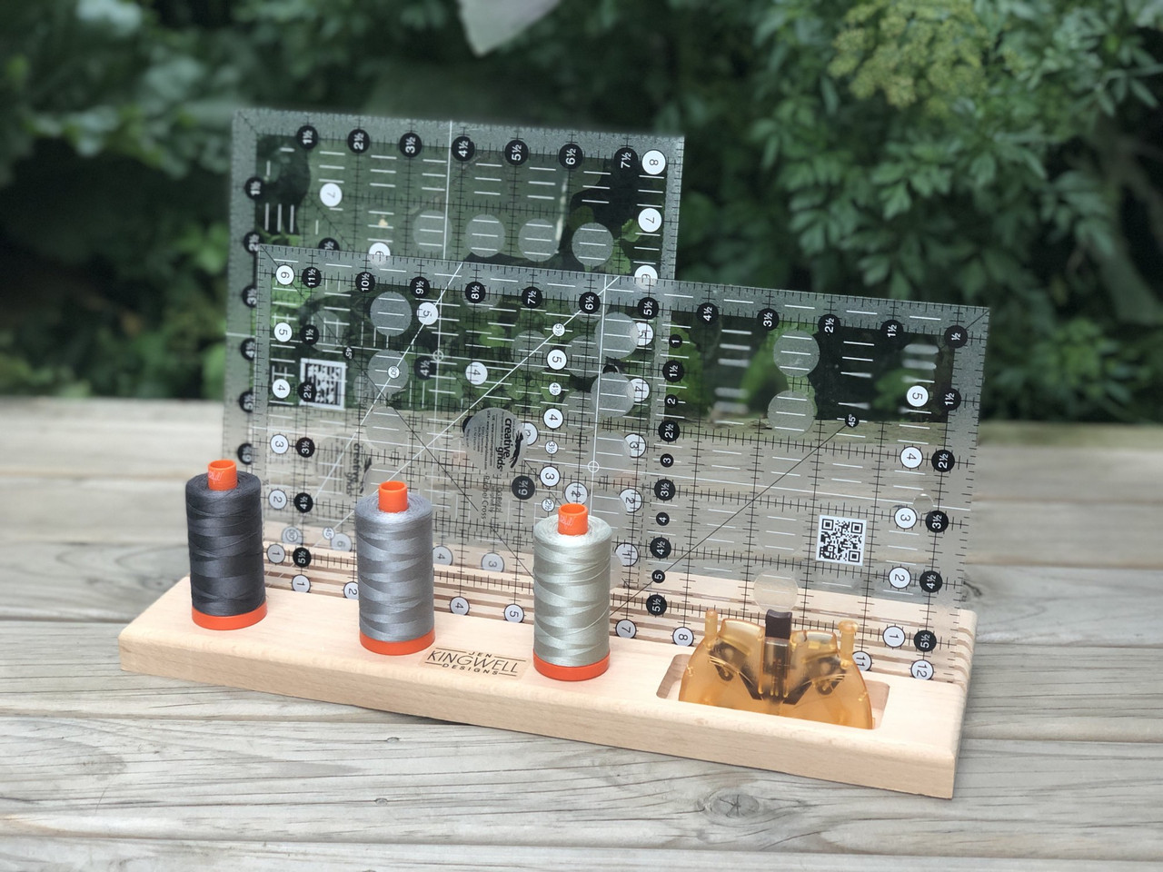 Wooden Ruler Stand