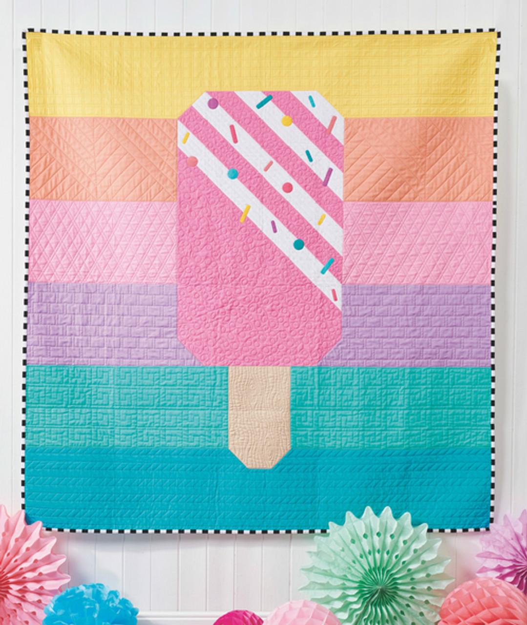 Rainbow Popsicle Quilt Pattern