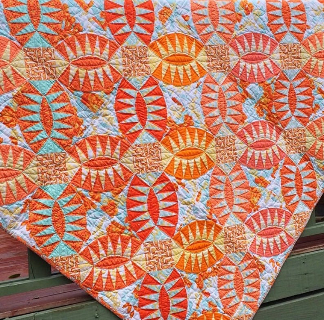 Pickled Orange Peel Quilt Pattern
