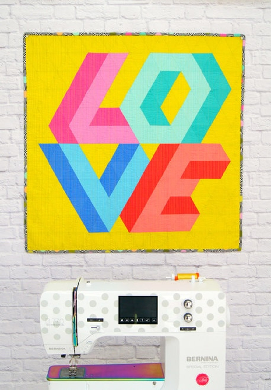 Love Triangle Quilt Pattern