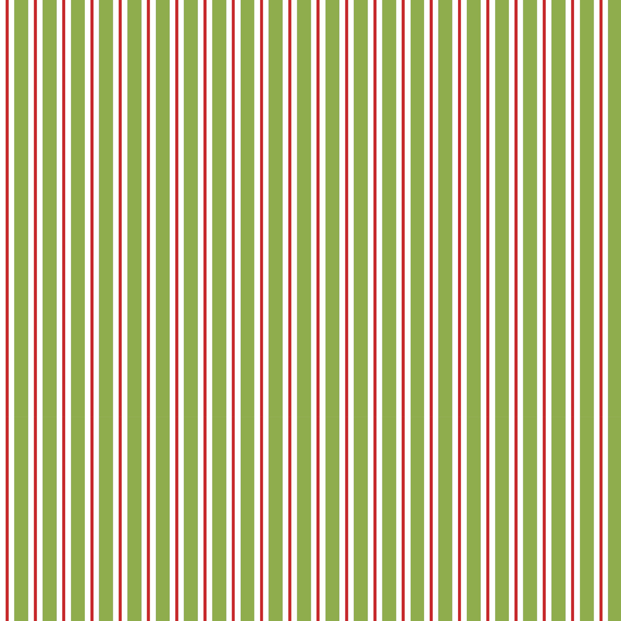 Christmas In Australia - Peppermint Stripe