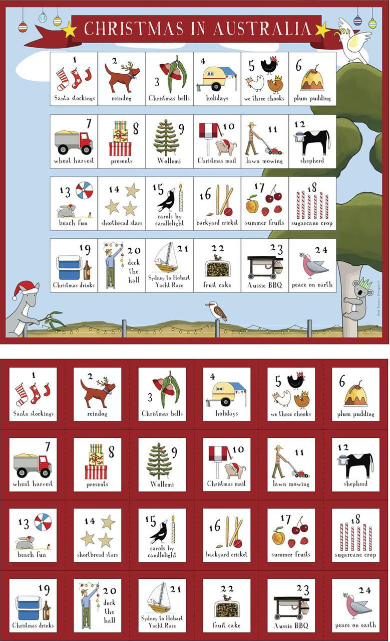 Christmas In Australia - Advent Calendar