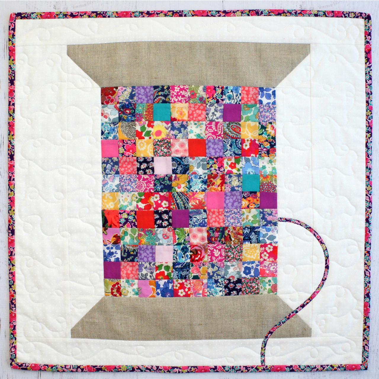Liberty Vintage Cotton Reel Mini Quilt Pattern