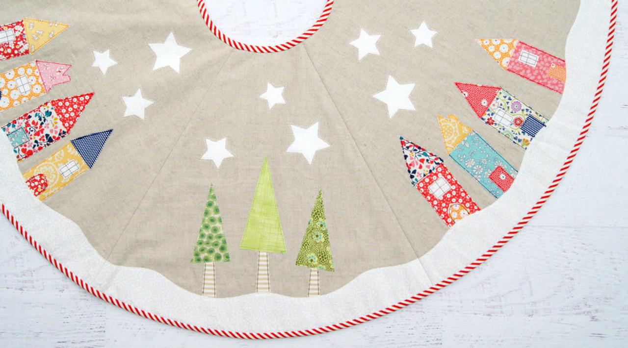 Yule Tide Christmas Tree Skirt Pattern