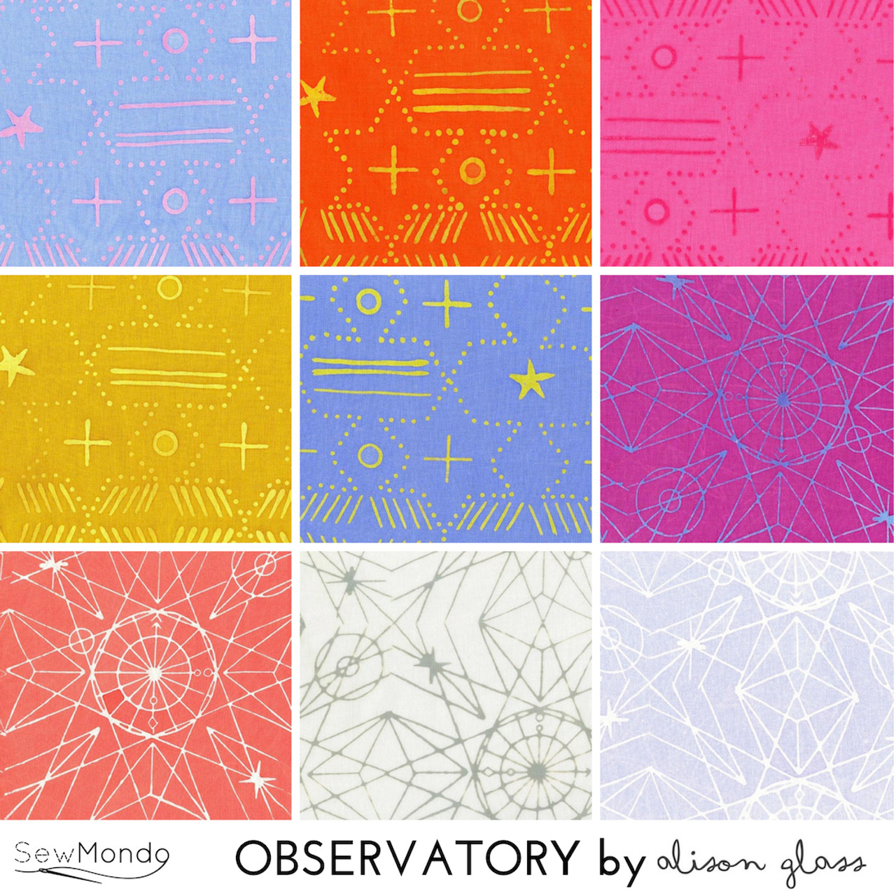 Observatory - Fat Quarter Bundle