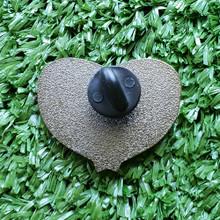 Enamel Pin - Tape Measure Heart