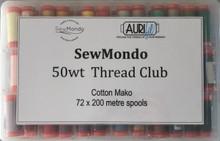 Aurifil 50wt Thread Club (First Month)