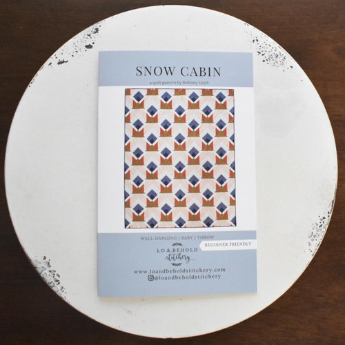 Snow Cabin Pattern