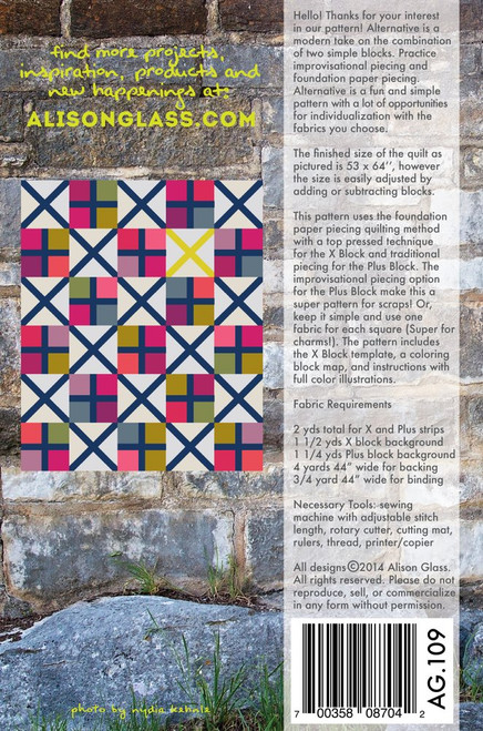 Alternative - Quilt Pattern