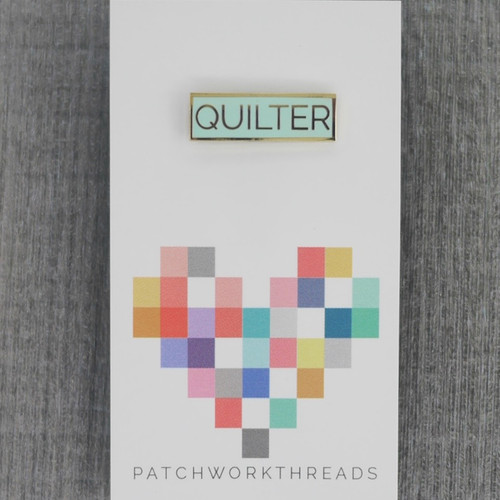 Quilter Pin