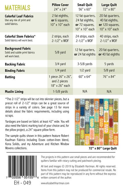 Leafy Quilt Pattern
