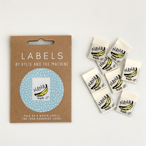 Woven Label - Nana Made It