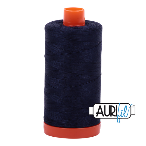 Mako Cotton 50wt - 2785 (Very Dark Navy)
