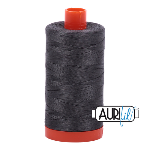 Mako Cotton 50wt - 2630 (Dark Pewter)