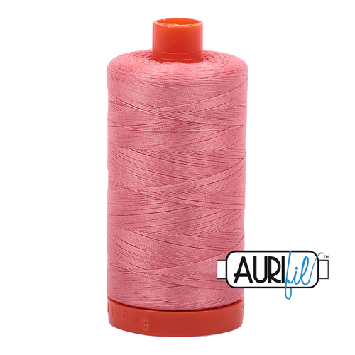 Mako Cotton 50wt - 2435 (Peachy Pink)