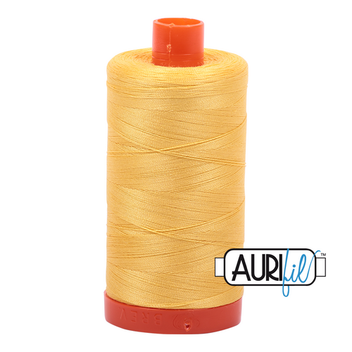 Mako Cotton 50wt - 1135 (Pale Yellow)