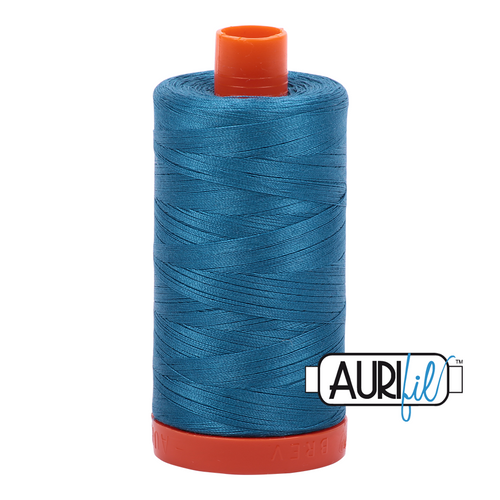 Mako Cotton 50wt - 1125 (Medium Teal)