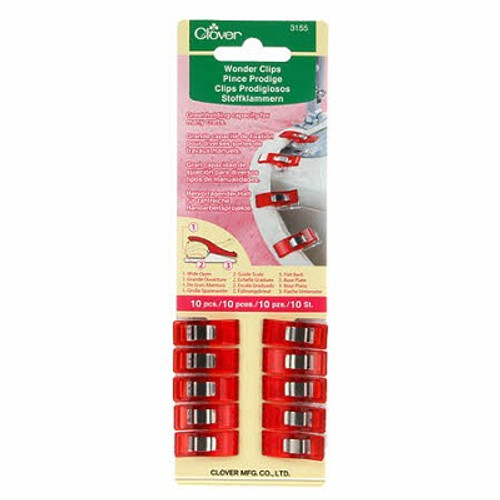 Wonder Clips (10 Pack) - Red