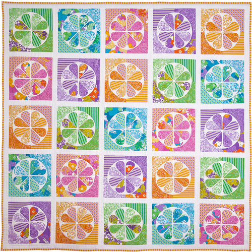 Daisy Quilt Pattern Template Set