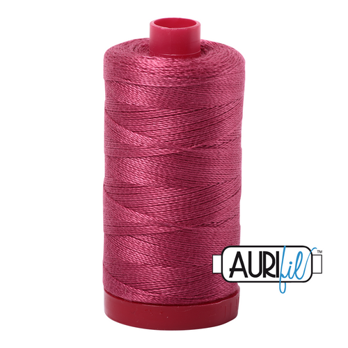 Mako Cotton 12wt - 2455 (Medium Carmine Red)