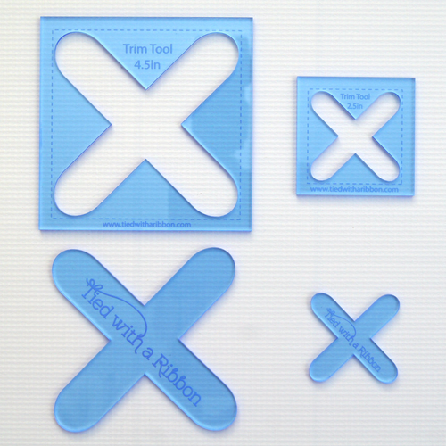 Cross-Stitch Appliqué Templates and Trim Tool Set