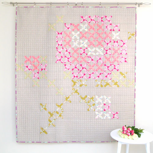 Viv's Rose Quilt Pattern