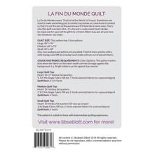 La Fin Du Monde Quilt Pattern