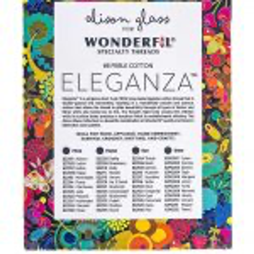 Alison Glass + Wonderfil Perle Cotton Thread Box (Flora) (PRE-ORDER)