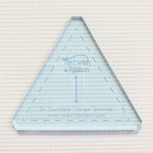 "3"" Equilateral Acrylic Triangle"