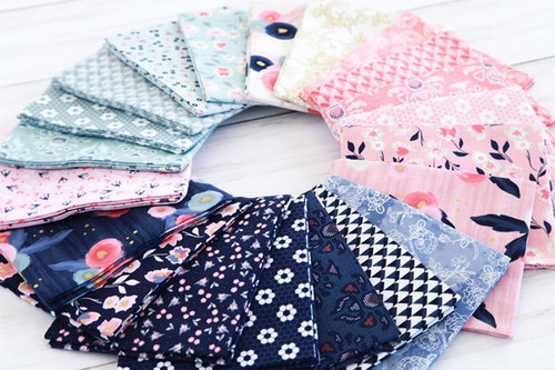 Midnight Rose - Fat Quarter Bundle