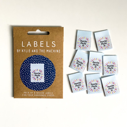 Woven Label - Auntie Made It