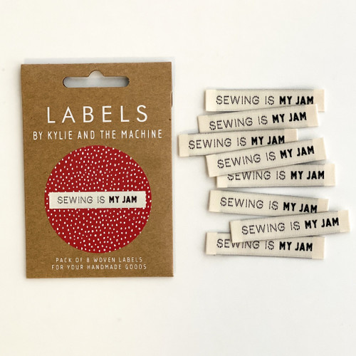 Woven Label - Sewing Is My Jam