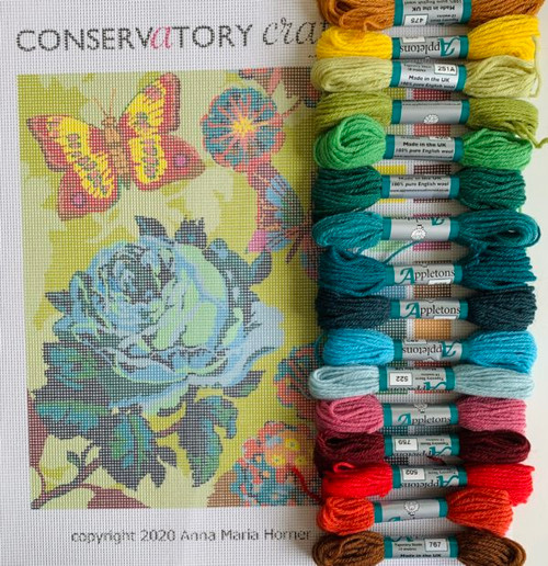 Cabbage Rose - Tapestry Kit