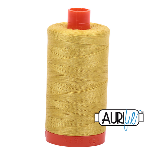 Mako Cotton 50wt - 5015 (Gold Yellow)
