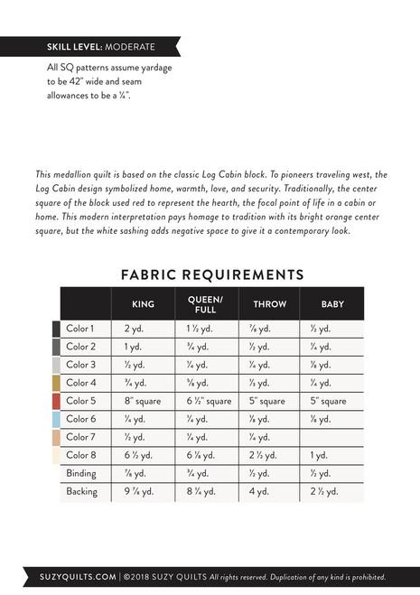 Campfire Quilt Pattern (PDF)