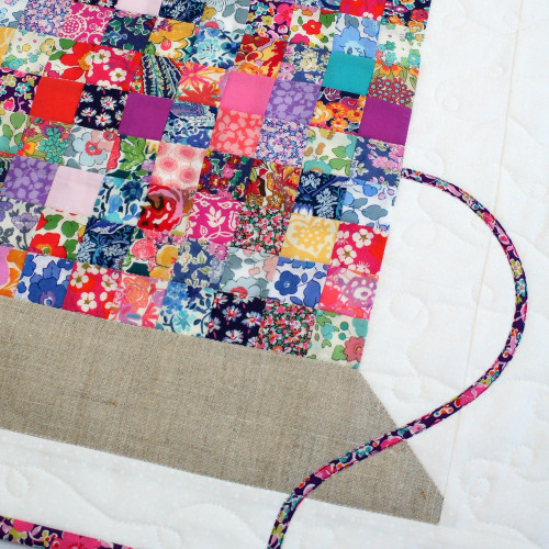 Liberty Vintage Cotton Reel Mini Quilt Pattern