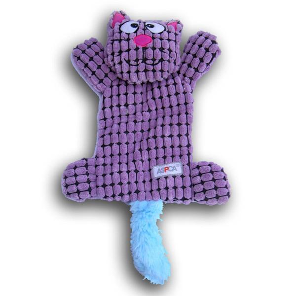 PetPat Pet Toys PetPat Flat Bat Cat Purple