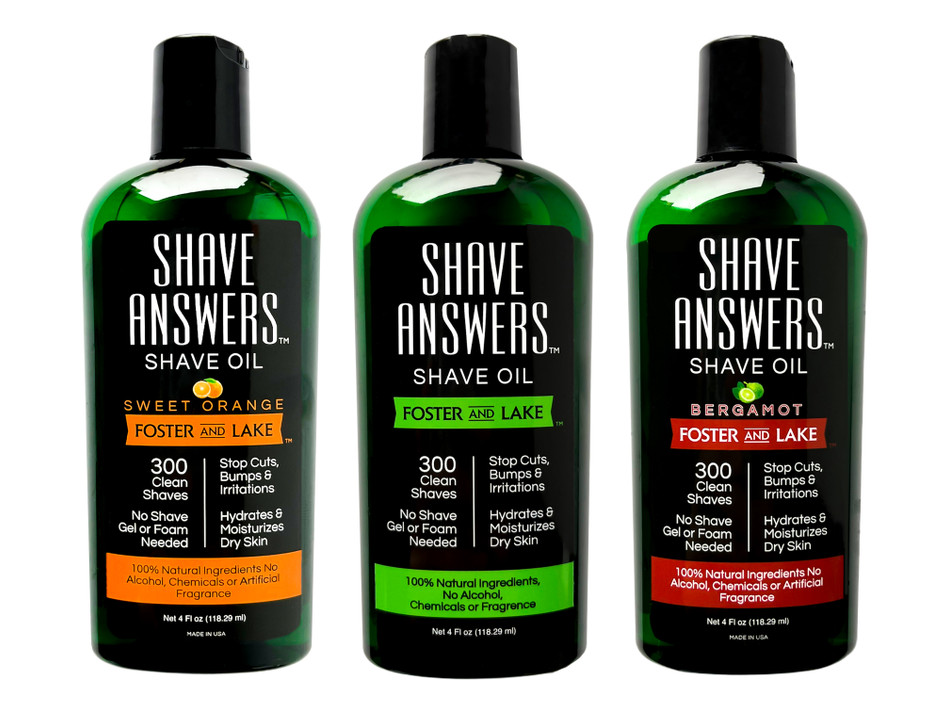 A Simple way to soften hair before shaving.