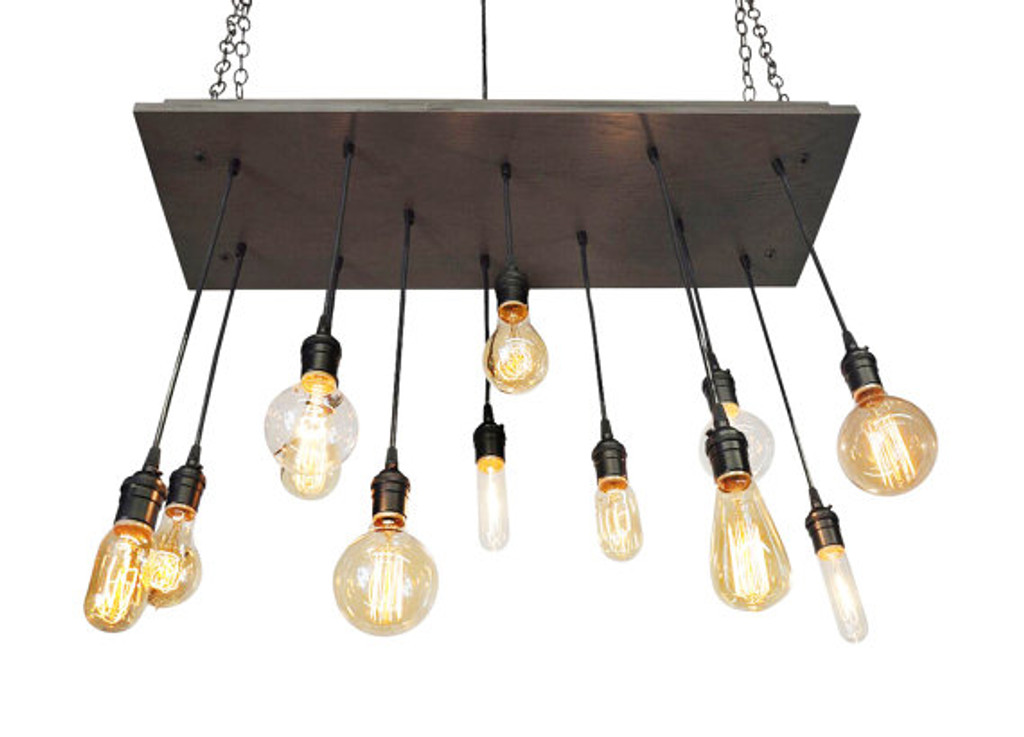 Industrial Kitchen Island Chandelier - UL Listed