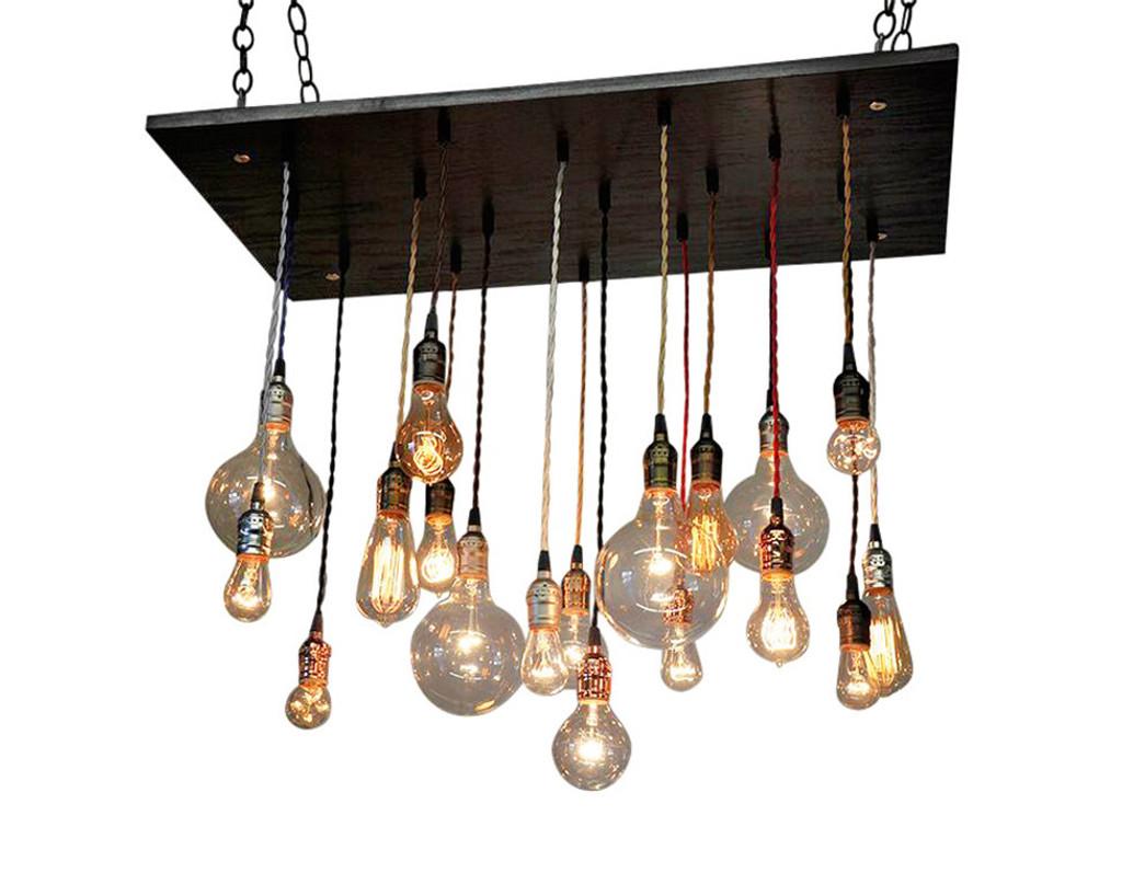 Edison Bulb Multi Pendant Chandelier