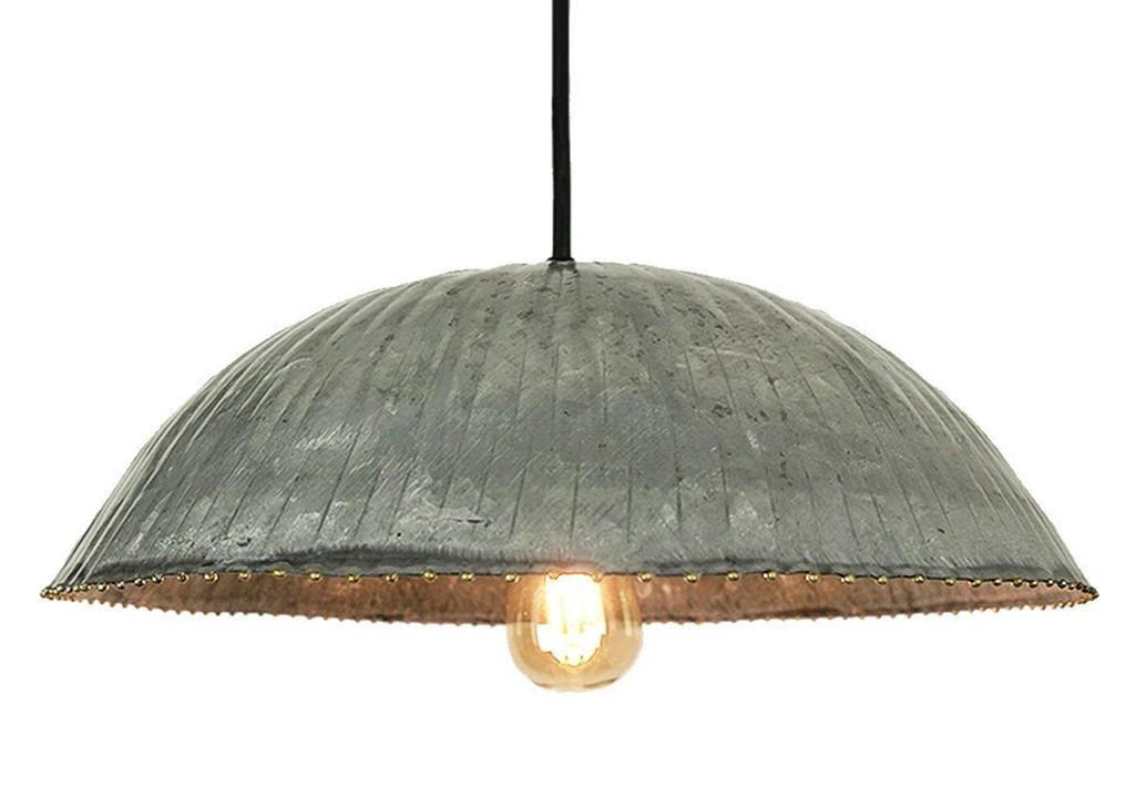 "Industrial 12"" Dome Pendant Light"