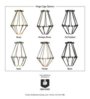 Hinge Cage Pendant Options