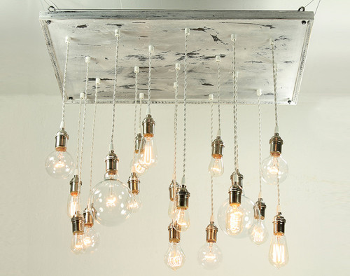 Cottage Style Pendant Chandelier