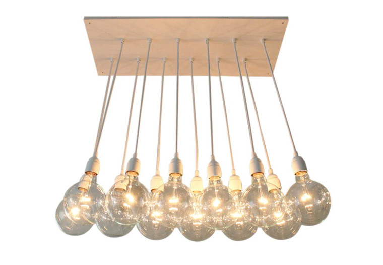Urban Chic Chandelier - 12 Pendants