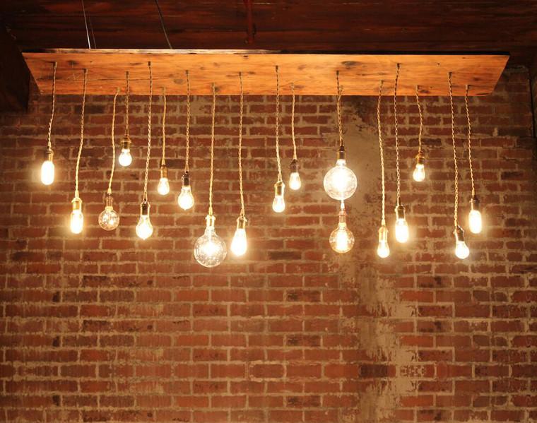 18 Light Pendant Chandelier (Lrg.)